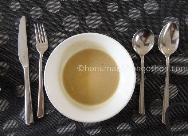Cauliflower Seafood Soup
